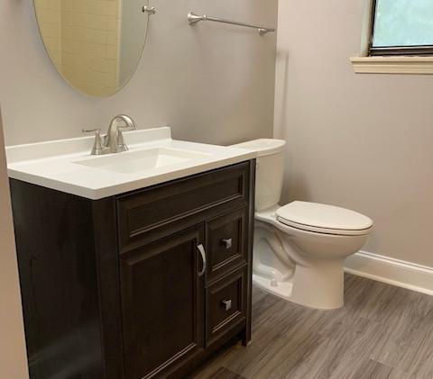 Unit F Bathroom