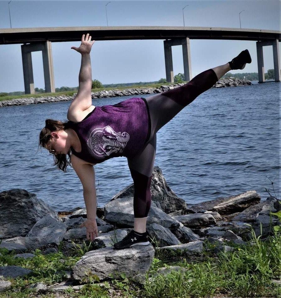 Cape Vineyards Yoga Class