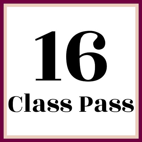 16 Class Pass