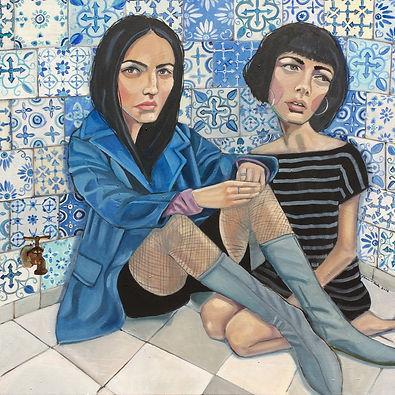 art, cameron bliss, modern art, athens, ga., artist. portrait, figure, figurative, contemporary art, original, winterville,