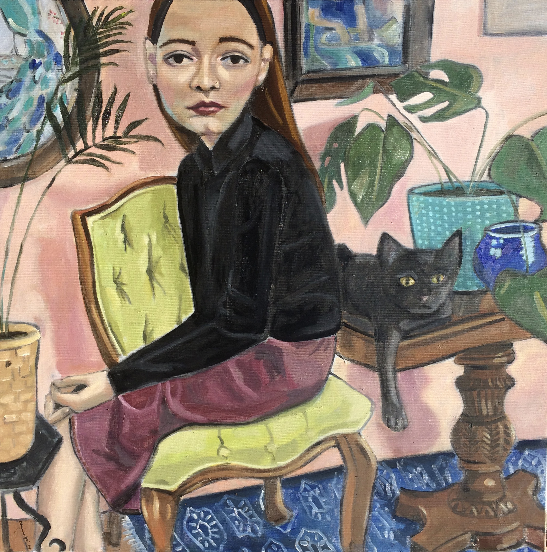 untitled (with cat)
