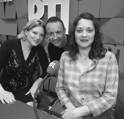 Léa Seydoux, Eric Dussart, Marion Co