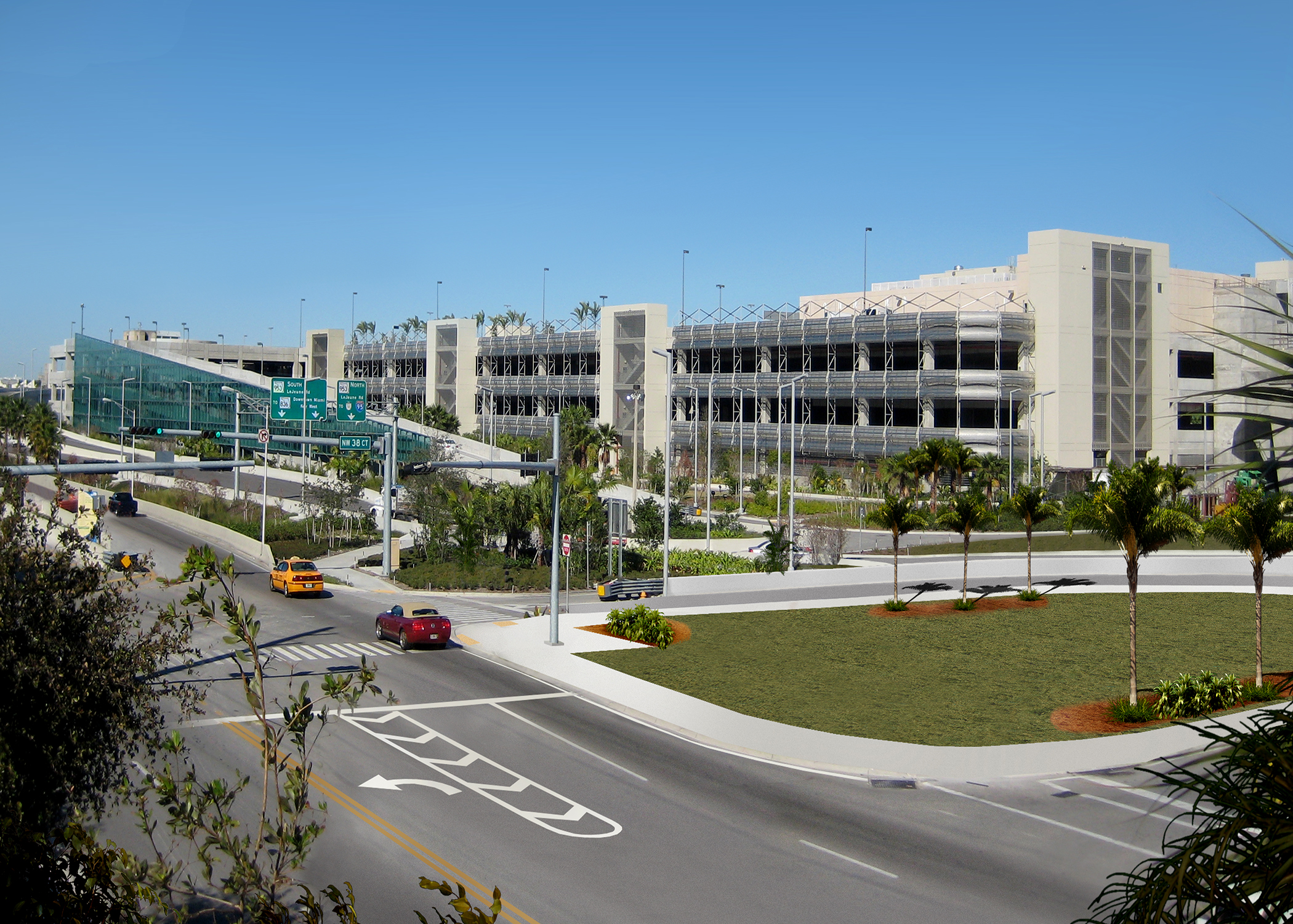 Miami Intermodal Center Rental Car F