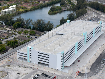 Work continues at the Golden Glades Multimodal Transportation Facility (GGMTF)