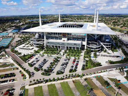 Hard Rock Stadium Pedestrian Bridges and Tunnels | Project Progress