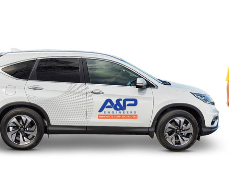 New Corporate image and website for A&P Consulting Transportation Engineers.