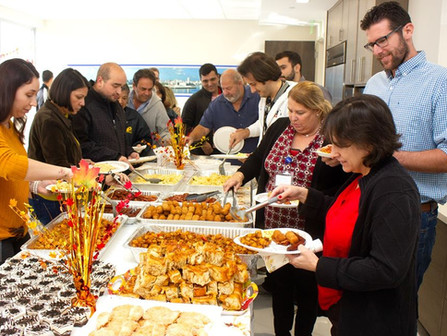 A&P Engineers celebrated Thanksgiving