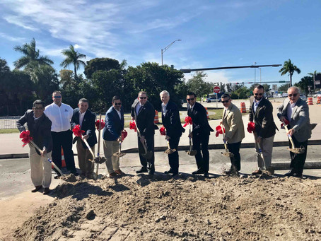 Groundbreaking Ceremony held for New Golden Glades Multimodal Transportation Facility.