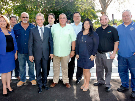 The N.W. 109th Avenue Ribbon Cutting Ceremony | City of Doral