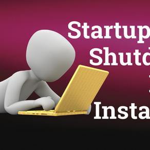 Startup & Shutdown RAC Instances