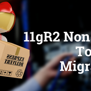 11gR2 Non-RAC to RAC Migration