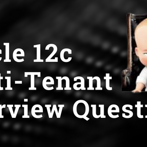 Oracle 12c Multi-tenant Interview Questions