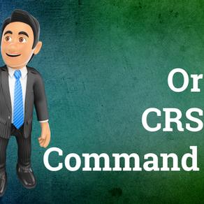 Oracle CRSCTL Commands List