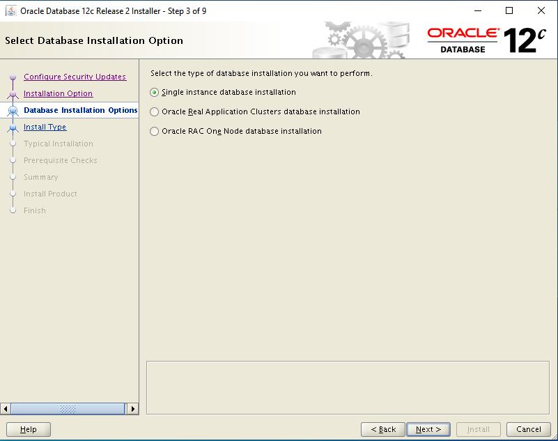 oracle-12c-install-single-instance-database