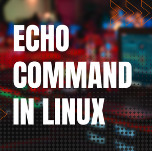 Echo Command in Linux