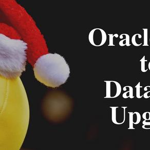 Oracle 12c to 19c Database Upgrade