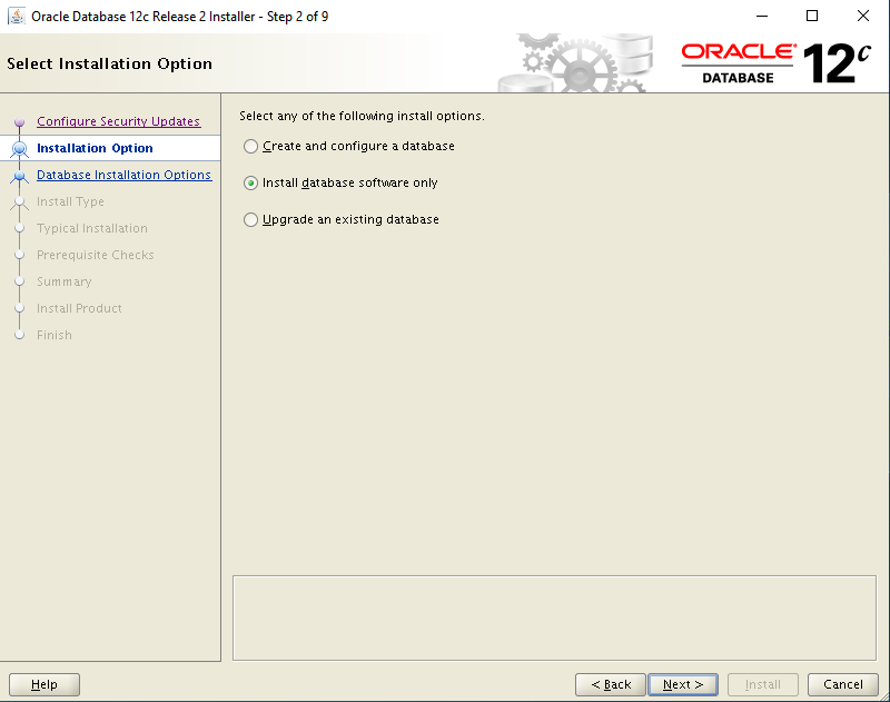 oracle-12c-install-database-software-only