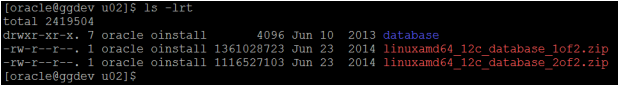 install oracle 12c database - oracle database software