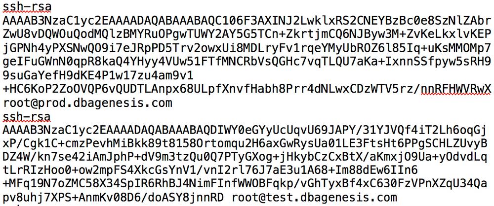 linux ssh key rsa