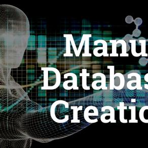 Manual Database Creation