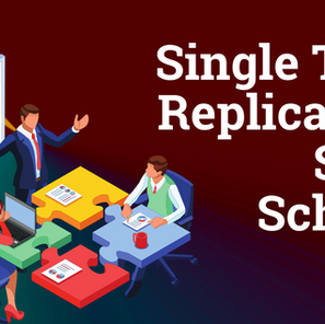 Single Table Replication – Same Schema