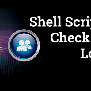 Shell Script to Check User Logins