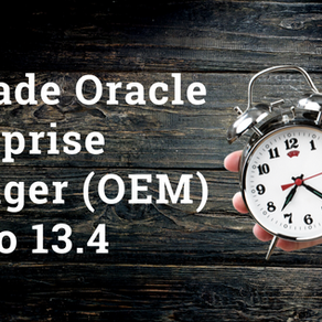 Upgrade Oracle Enterprise Manager (OEM) 13.3 to 13.4