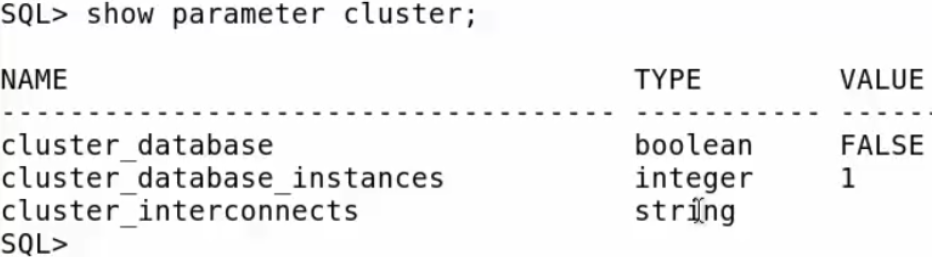 Create Template Using DBCA - show parameter cluster_database