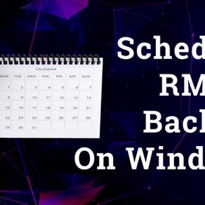 Schedule RMAN Backup on Windows