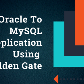 Oracle to MYSQL Replication Using Golden Gate
