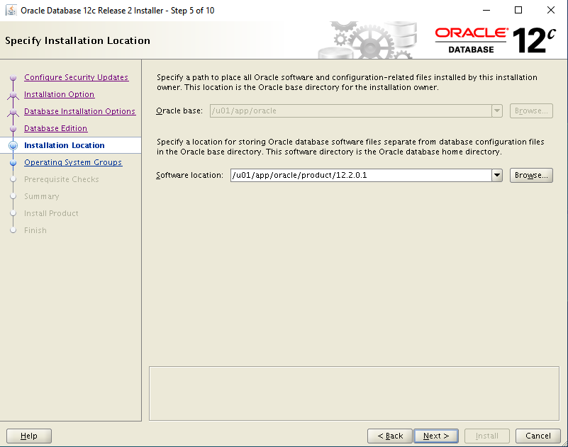 oracle-12c-install-oracle-home-location