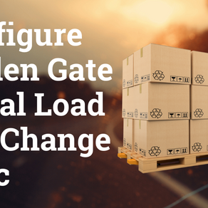 Configure Golden Gate Initial Load and Change Sync