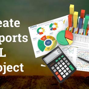 Create Reports SQL Project