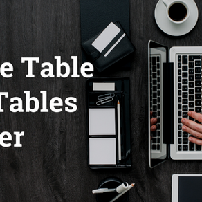 Oracle Table and Tables Cluster