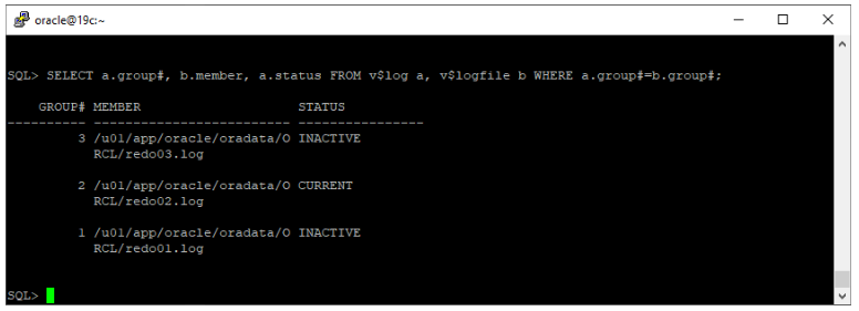 oracle non-asm to asm migration - migrate redo log files to asm