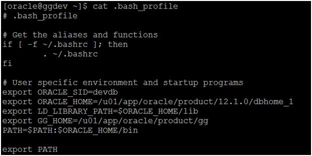 install golden gate - setup bash_profile