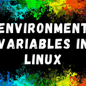 Environment Variables in Linux
