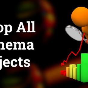 Drop all schema objects