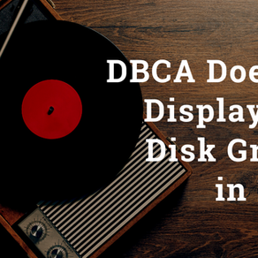 DBCA Does Not Display ASM Disk Groups In 12cR2