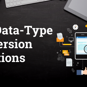 SQL Data-Type conversion functions