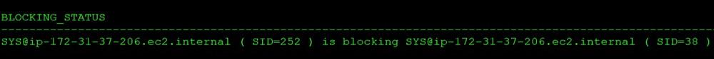 blocking-status