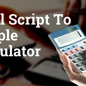 Shell Script to Simple Calculator