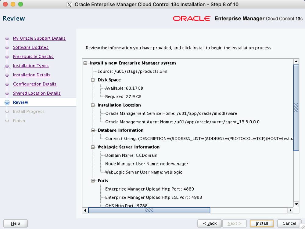 oem_13c_install_review_summary