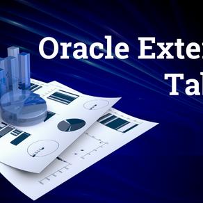 Oracle External Tables
