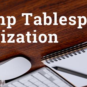 Temp Tablespace Utilization