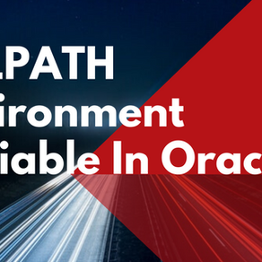SQLPATH Environment Variable in Oracle