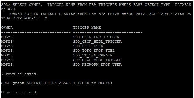 dba_trigger