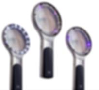 ILLUCO Dermatoscope IDS-3100, wood lamp test, UVC, skin