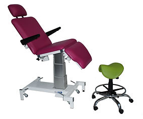 Plinth 2000 Front Page & Podiatry Column Chair