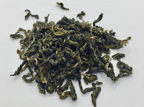 Elegant Emerald Green Tea